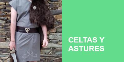 Trajes de Astures y Celtas