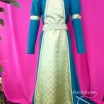 Traje-de-dama-medieval-azul